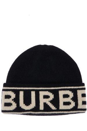 Burberry | Hombre Gorro Beanie De Punto De Cashmere Con Logo Unique