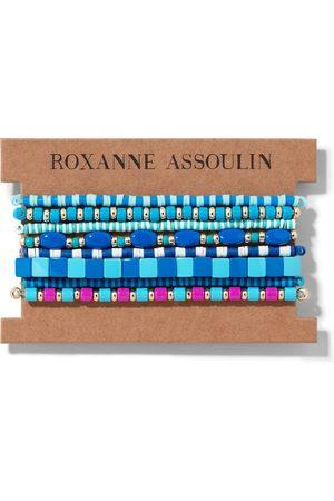 Roxanne Assoulin Set de pulseras Color Therapy® Blue