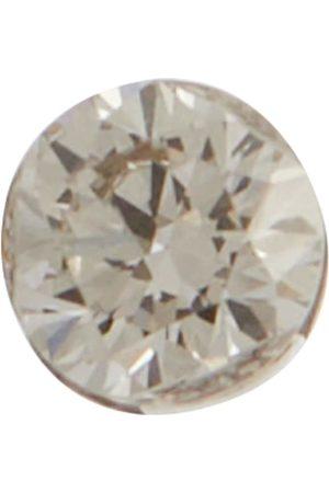 Maria Tash Arete Invisible de oro blanco de 14 ct y diamantes