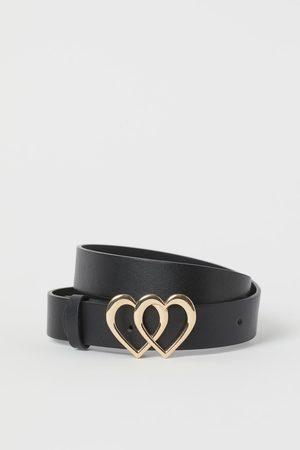 H&M Cinturón con hebilla corazón