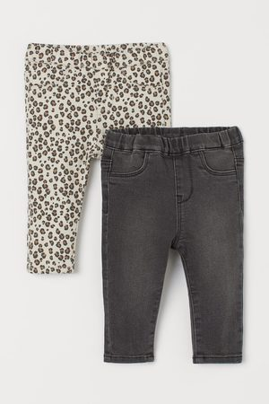 H&M Pack de 2 treggings