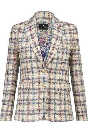 Etro Blazer de tweed de bouclé