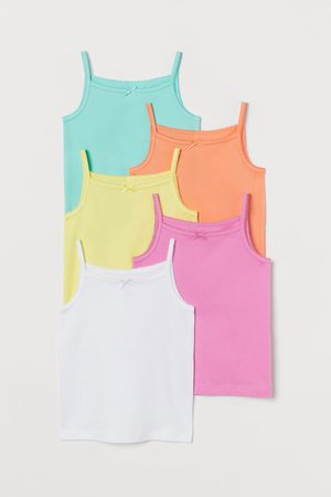 H&M Pack de 5 camisetas de punto