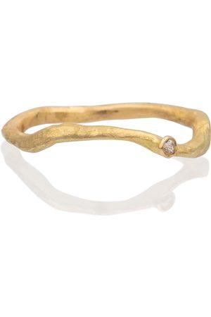 Orit Elhanati Anillo Solitaire de oro de 18 ct con diamante