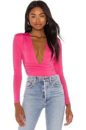 Lovers + Friends Mujer Bodies - Body anya en color rosado talla M en - Pink. Talla M (también en S, XL).