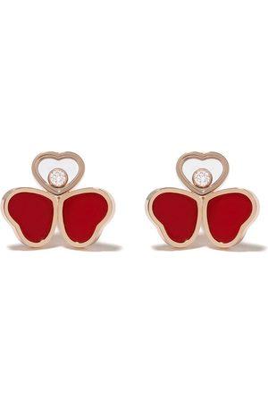 Chopard Pendientes Happy Hearts en oro de 18kt con diamante