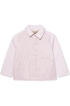 Burberry De Invierno - Monogram quilted jacket