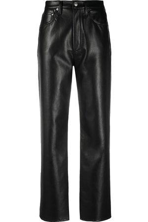 AGOLDE Pantalones de talle alto