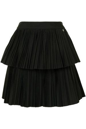 Twin-Set Mujer Plisadas - Falda plisada a capas