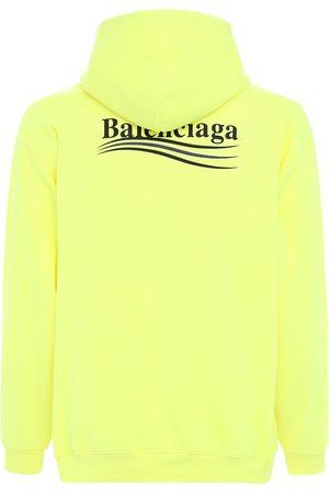 Balenciaga | Hombre Sudadera De Algodón Con Logo Y Capucha Xs