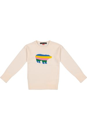 Perfect Moment Jersey de lana merino con oso