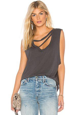 LA Made Camiseta tirantes nolan en color gris talla L en - Grey. Talla L (también en S, XS, M).