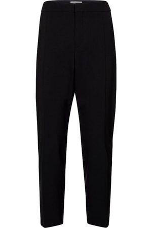 Chloé Pantalones ajustados de lana
