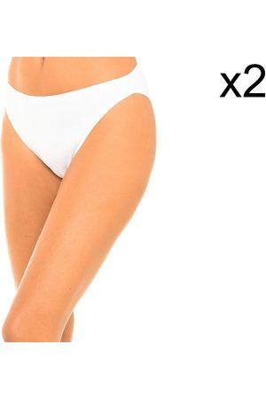 Playtex Culote y bragas Pack-2 Braguitas High Leg para mujer