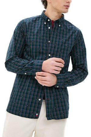 Tommy Hilfiger Camisa manga larga TARTAN FIL COUPE SHIRT para hombre