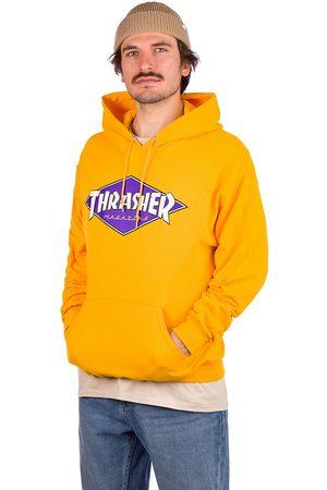 Thrasher Diamond Logo Hoodie amarillo