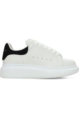 Alexander McQueen | Niño Sneakers De Piel Con Cordones /negro 33