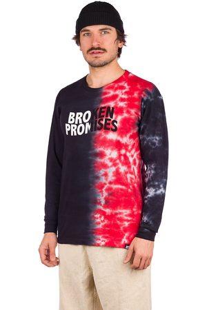 Broken Promises Logo Split Longsleeve T-Shirt estampado