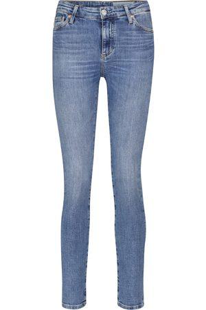 AG Jeans Jeans ajustados Mari de tiro alto