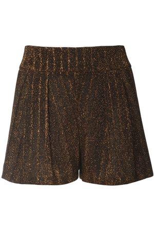 Missoni | Mujer Shorts Mini De Punto De Viscosa /dorado 36