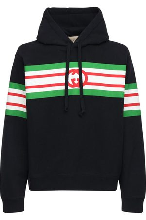 "Gucci | Hombre Sudadera ""gg"" De Algodón Con Capucha Xs"