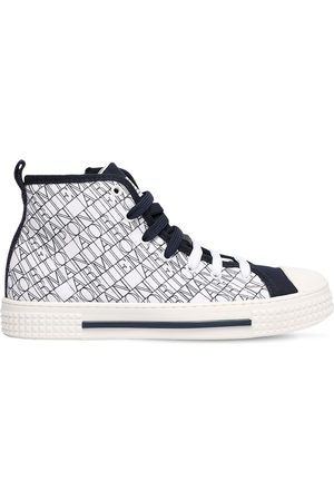 Emporio Armani | Niña Sneakers Altas Con Logo 35
