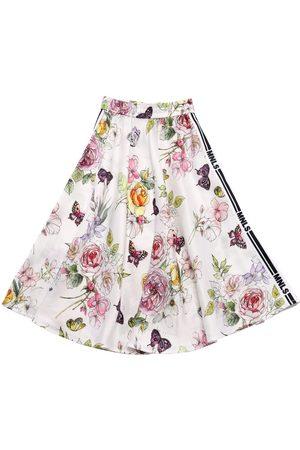 MONNALISA   Niña Falda De Viscosa Con Estampado Floral 12a