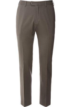 Loro Piana Hombre Pantalones slim y skinny - | Hombre Pantalones Slim Fit De Lana Stretch 18cm 48