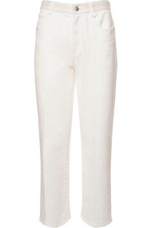 Stella McCartney   Mujer Jeans Rectos De Denim De Algodón Orgánico 24