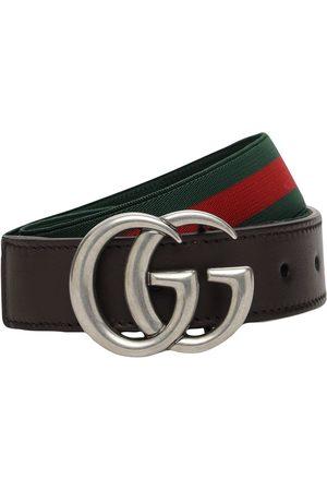 Gucci | Niña Cinturón Elástico Con Tribanda 50 Cm