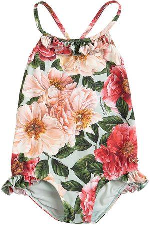 Dolce & Gabbana Niña Bañadores - | Niña Bañador De Lycra Con Estampado Floral 8a