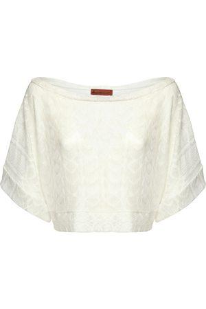 Missoni Mujer Blusas - | Mujer Blusa Cortada De Viscosa Tejida S