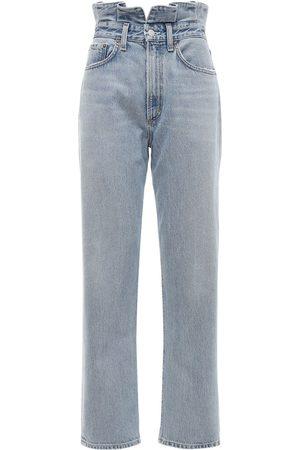 AGOLDE | Mujer Jeans De Cintura Alta Con Volantes 24