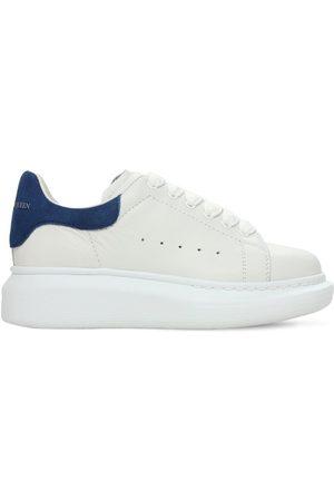 Alexander McQueen Niño Zapatillas deportivas - | Niño Sneakers De Piel Con Cordones /azul 29