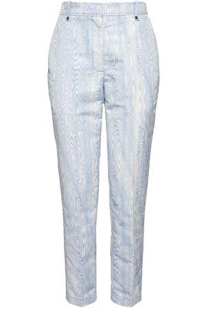 Rochas | Mujer Pantalones Crop Slim Fit De Jacquard Moaré 38