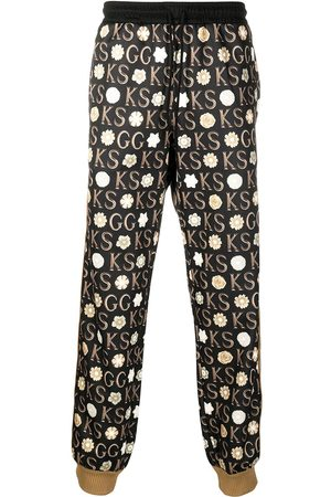 Gucci Pantalones de chándal estampados de x Ken Scott