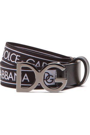 Dolce & Gabbana Cinturón con logo estampado