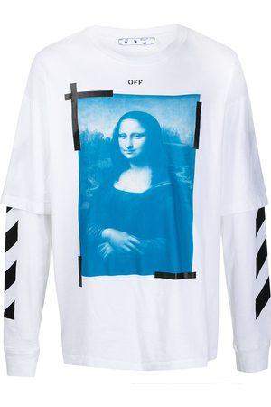 OFF-WHITE Camiseta con estampado Mona Lisa