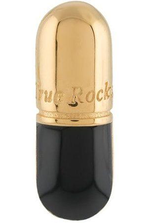 TRUE ROCKS Hombre Pendientes - Pendiente con diseño de píldora
