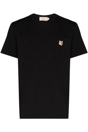 Maison Kitsuné Camiseta con parche Fox