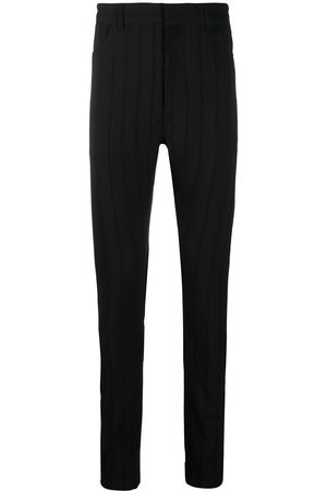 ANN DEMEULEMEESTER Pantalones skinny a rayas