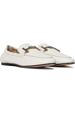 Tod's Mocasines Gommino Doble T de piel