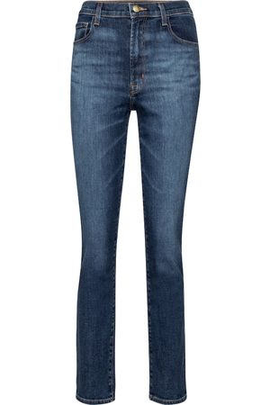 J Brand Jeans ajustados Tegan de tiro alto