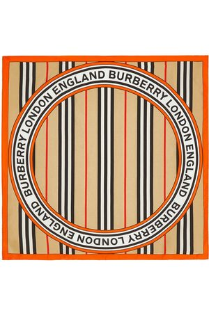 Burberry Bufandas y Pañuelos - Pañuelo pequeño con motivo Icon Stripe