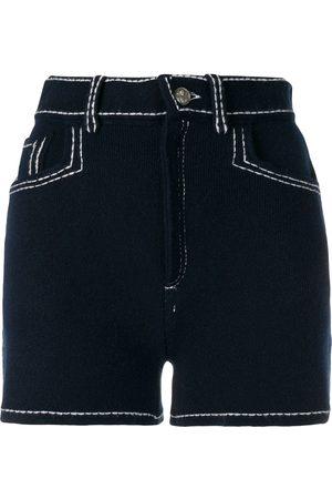 Barrie Mujer Pantalones cortos - Pantalones cortos con detalle de costuras