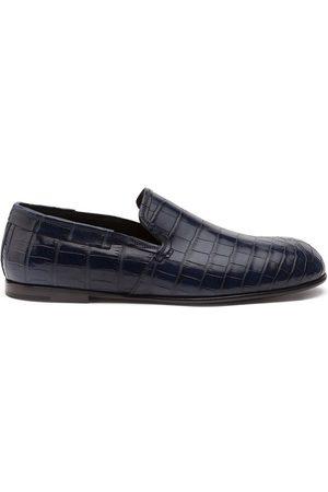 Dolce & Gabbana Hombre Calzado formal - Mocasines con efecto de piel de cocodrilo