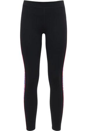 OFF-WHITE | Mujer Leggings Athleisure Con Bandas Laterales Con Logo Xs