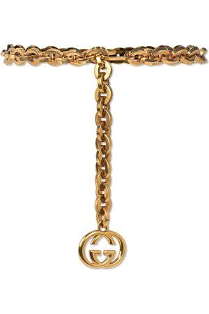 Gucci Cinturón de cadena con adorno de GG