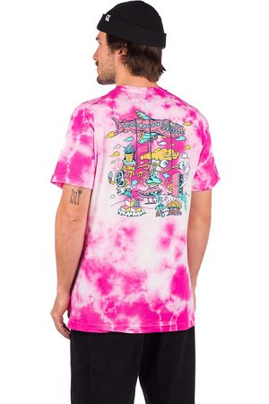 Killer Acid In The Clouds T-Shirt tiedye