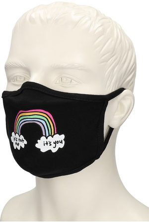 JAC VANEK Rainbow Cloth Mask negro